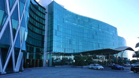会場となったThe Meydan Hotel