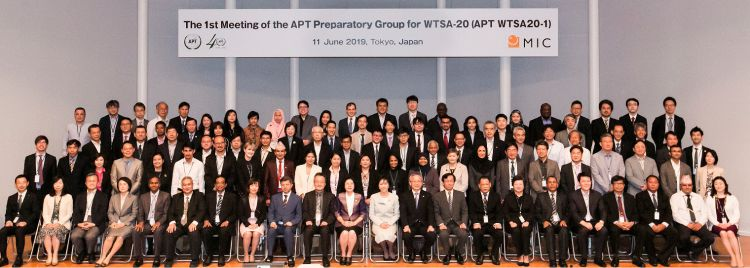 APT WTSA参加者の集合写真