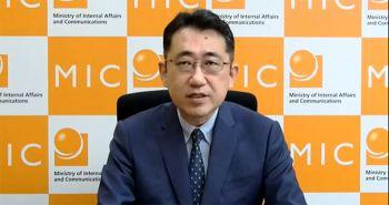 祝辞:巻口 英司 総務省国際戦略局長